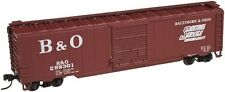 Atlas # 50001590 50' Single-Door Boxcar Baltimore & Ohio # 299301 N Mib