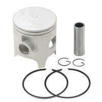 Engine Piston Rings Pin Clips Kit STD Bore 66.4mm For HONDA CR250 1986-2007