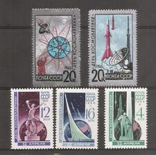 Russia SC # 3019-3023 National Cosmonauts' Day . Mint Never Hinged.