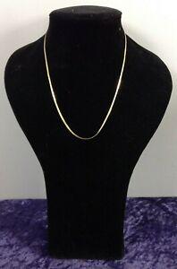 Womens 18ct / 18 Carat / 18K / 18 Karat Yellow Gold 750 Chain - 3.41g