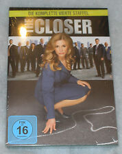 The Closer - Complete Season Series 4 Four - DVD Box Set - NEW SEALED