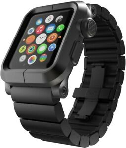 Lunatic Epik ALUMINUM LINK WITH ALUMINUM BRACELET for Apple Watch 42mm - Black