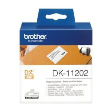 Brother DK Labels DK-11202 (62mm x 100mm) Shipping Labels on a Roll (300 Labels)