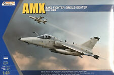 Kinetic Models - 1/48 AMX Single Seat Fighter - K48026