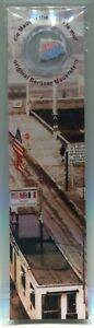 Bookmark with Genuine Piece of The Berlin Wall Germany Size 2 cm in Display 30th