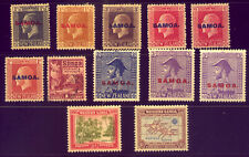 SAMOA  A NICE  COLLECTION of OLD STAMPS - ALL MINT   NO  RESERVE !!!!