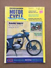 Motorcycle Enthusiast Magazine - December 1987 - Greeves 250 Matchless G80