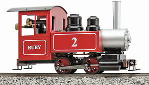 Accucraft Trains - Ruby 0-4-0, Freelance, Red KIT, Live Steam