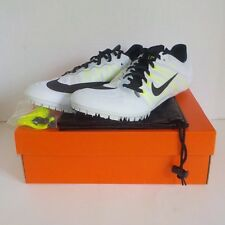 Nike JA Fly 2 Sprint Running Shoe WHITE BLACK 705373 107 SIZE 12.5 +Spikes & SRT
