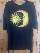 Asos T Shirt Dress Size 18 Sun And Moon