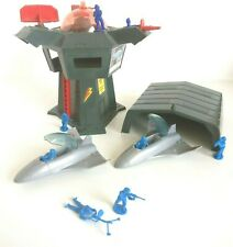 1980's Bluebird Toys Zero Hour / Code Zero Stealth Bomber ZF1 & Eagle HQ Tower