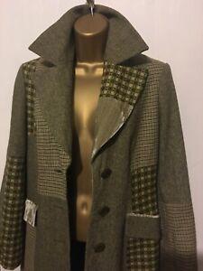 Principles Coat Lightweight Tweed, Herringbone, Velvet, Welsh Tapestry