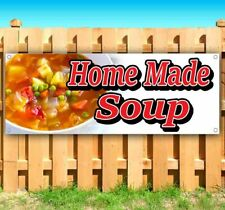 New Listinghomemade Soup Advertising Vinyl Banner Flag Sign Many Sizes Food