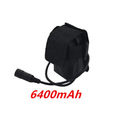 8.4V 6400mAh 4x 18650 Battery Pack FOR Led Bike Bicycle Lights Lamp With Battery