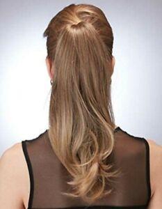 Hothair Elegant Pony Clip-in Hair Piece Chocolate Copper RRP £25