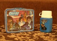 Vintage Star Wars The Empire Strikes Back Metal Lunch Box With Thermos
