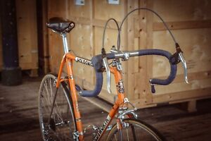 Vintage Orange '67 Holdsworth Professional Bicycle Original Campag Poss Ex-Team