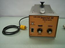 LAB-LINE INSTRUMENTS IMPERIAL III WATER BATH CAT No. 18000 S/N 0278 WORKING