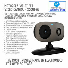 The Wi-Fi connected SCOUT66™ video camera