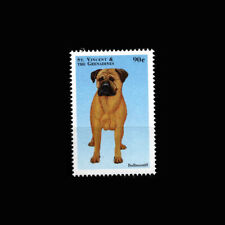 St Vincent Gr, Sc #2579, Mnh, 1998, Bullmastiff, Dog, Ar6Faicx