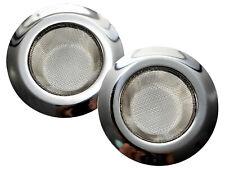 "4.5"" Kitchen Sink Strainer Stainless Steel Mesh Screen Bath Drain Filter 2 Pack"