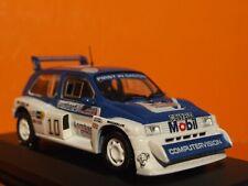1:43 Scale   MG METRO 6R4 Tony Pond 85 RAC rally by IXO