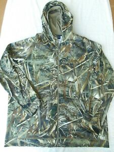 Under Armour Realtree Camouflage Zip Front Hoodie Early Season Kit Jacket SZ XXL