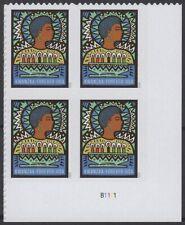USA Sc. NEW (55c) Kwanzaa 2020 MNH plate block