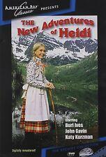 The New Adventures of Heidi (Burl Ives) - Region Free DVD - Sealed