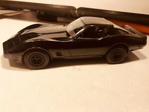 1/25 AMT DEALER PROMO TEST SHOT 1982 CHEVROLET CORVETTE MOULDED IN BLACK