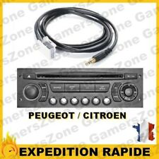 Cable Jack Auxiliaire Mp3 Audio autoradio Peugeot Partner
