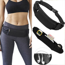 Sports Running Waist Belt Fanny Pack Unisex Zip Bum Pouch Pocket Jogging Cycling
