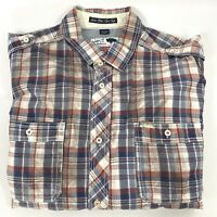 Buffalo David Bitton - Dirt Stain Print - Western Checkered Plaid Button Shirt