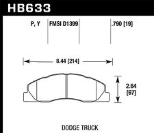 Hawk LTS Rear Brake Pads For 09-16 Dodge Ram 1500/2500/3500 #HB633Y.790