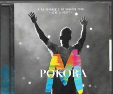 CD ALBUM LIVE 20 TITRES--M POKORA--A LA POURSUITE DU BONHEUR TOUR - LIVE BERCY
