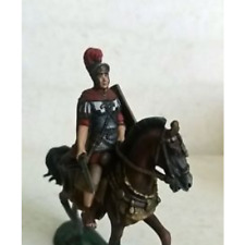 PLOMO/TIN soldado de elite, romana en el caballo, pintado a mano, detallados, RARA, EXCLUSIVO