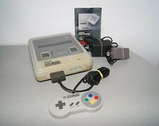 Nintendo Snes Super Console Complete with manual