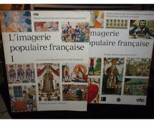 L'imagerie Populaire Francaise;2 Vol. French Set~Images d'Epinal gravees sur boi