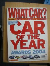 WHAT CAR?  MAGAZINE MARCH  2004 USED