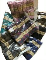 Lot de 12 pelotes de laine Lalana Romeria pour écharpe fantaisie - froufrou