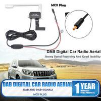 Universal DAB Digital Car Radio Aerial Antenna Glass Mount MCX Male Plug Hot
