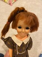 Vintage Crissy Doll Red Grow Hair Doll 1969 Ideal Toys