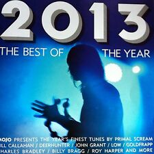 Mojo CD: Best Of 2013. Primal Scream, Goldfrapp, B Bragg, 15 Tracks, Good Mix