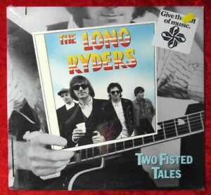 LP Long Ryders: Two Fisted Tales (Island 90594-1) US 1987 Sealed!!