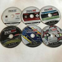 6 Pro Evolution Soccer Games  / Disc Bundle / Sony Playstation 3 PS3 2014 2008