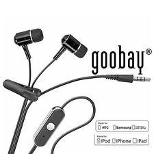 Original Goobay InEar Kopfhörer mit Freisprechfunktion für Apple iPhone 5 6 Plus