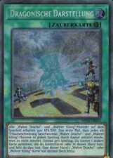 YuGiOh Karte - Dragonische Darstellung - MP18, Secret Rare | NM Deutsch