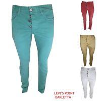 jack & jones jeans uomo tim slim fit vita bassa pantaloni aderenti elasticizzati