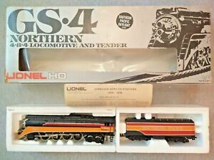 Lionel HO Southern Pacific Daylight GS-4 4-8-4 Loco & Tender - Parts/Repair ~ TS