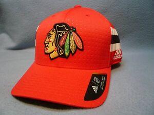 Adidas Chicago Blackhawks Structured Flex BRAND NEW hat cap NHL Draft 17 Hawks